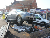 Car Crash outside Seven Kings Station at 6:00am Saturday the 11th of February 20