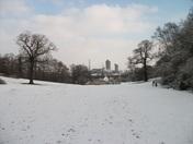 snowy scenes in franks park