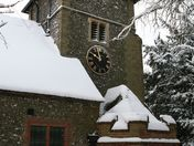 St Giles Church in Farnborough Village Kent