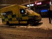 An abandoned ambulance in Goodmayes @ 2:30 am