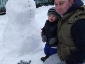 Snow scenes in Plaistow