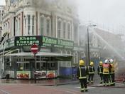 Restaurant fire in Green Street, Upton Park