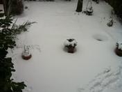 Snow in Church Langley, Essex