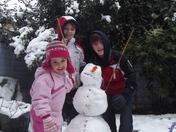 Snow in Hackney