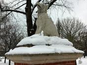 Snow in Victoria Park