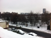 Snow in Bethnal Green