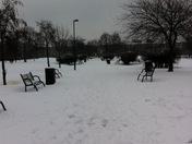Snow Weavers Fields, Bethnal Green