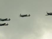 Spitfire flypass
