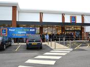 Opening of New Aldi Store in Newbury Park