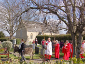 Palm Sunday Procession at St. Peter's Aldborough Hatch
