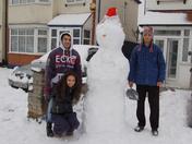 Snow in Aldborough Hatch, Redbridge
