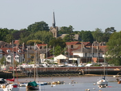 Views of Woodbridge taken from River Bank