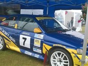 Alpha & Omega Rally Car at Suffolk Show