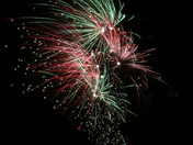 Fireworks at Capel St Mary