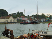Pin Mill in the rain