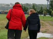 A walk in windy Shotley