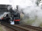 North Norfolk Railway March Gala 2015