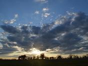 Sunset Over Tuddenham