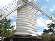 18th Century Post Mill at Holton