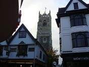 church tower in Ipswich