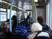 En route to Ipswich by bus