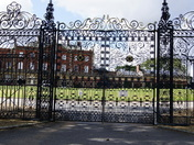 Lovely iron gates