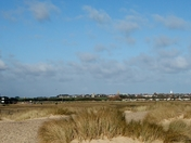 Across the dunes to Southwold