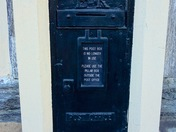 The old post box