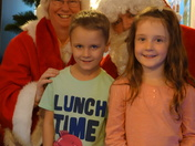 Meeting father Christmas (for the first time this year)