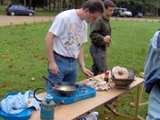 Cook up in the forest