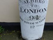 Aldeburgh milestone