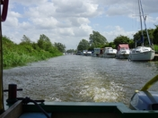 River Blackwater cruise
