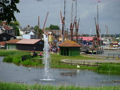 Water fountain promenade Maldon,Essex