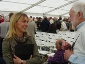 Michaela Strachan opens new visitor centre at Abberton Reservoir
