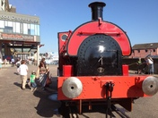 Steam engine on Ipswich docks