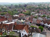 Over the rooftops of Framlingham