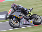 Tom Ward on the  Aero Legends yamaha 6oo