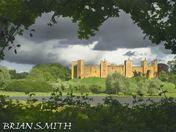 Storm clouds over Framlingham Castle