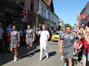 THE OLYMPIC TORCH BEARER