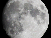 Full moon tomorrow