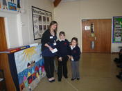 School's support for charity