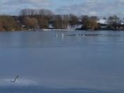 Frozen Loompits Lake