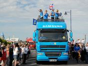 Olympic Torch at Felixstowe