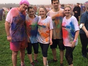 MORE COLOUR 5K FINISHER'S.