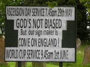 ENGLAND'S DIVINE INTERVENTION..!!!!