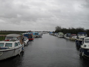 ACLE DYKE WINTER MOORINGS.