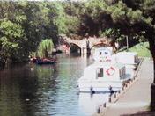 Peaceful River Scene.