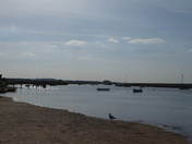 Burnham Overy High Tide.
