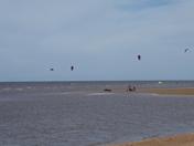 Hunstanton Kite surfers