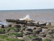 Wreck of the Sheraton
